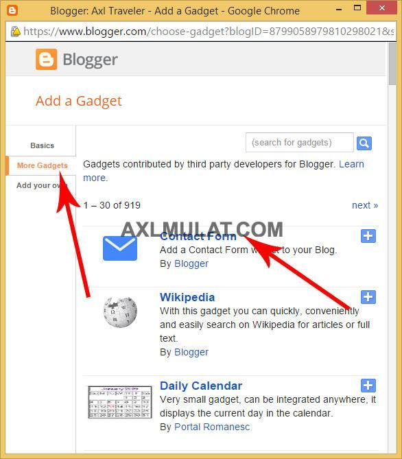 How-Add-Contact-Form-to-Blogger-Blog-Page-1